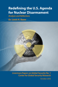 Redefining the U.S. Agenda for Nuclear Disarmament Cover
