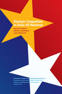 Strategic Competition in China-US Relations Cover
