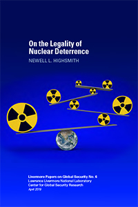 On the Legality of Nuclear Deterrence Cover